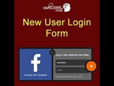 Pinterest     The world     s catalog of ideas Login Form Design with facebook login   webdesigningtrick com    More Info on