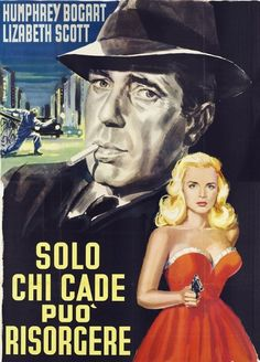 "cair–paravel: ""Foreign language film noir posters: Dead Reckoning The Two Mrs. Carrolls Sorry, Wrong Number The Big Heat The Blue Gardenia "" Humphrey Bogart, Bogart And Bacall, Old Movies, Vintage Movies, Film Vintage, Best Film Noir, Mini Poster, Bogart Movies, Lizabeth Scott"