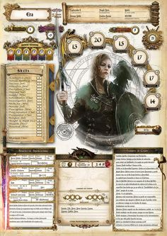 Discover recipes, home ideas, style inspiration and other ideas to try. Character Creation Sheet, Rpg Character Sheet, Character Sheet Template, Pathfinder Character Sheet, Dungeons And Dragons Classes, Dungeons And Dragons Characters, Dungeons And Dragons Homebrew, Dnd Characters, Pathfinder Card Game
