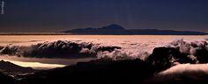 Mar de nubes, Gran Canaria.