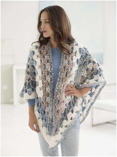 Retreat Crochet Shawl                                                                                                                                                                                 More