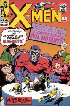 X-Men 4. First appearances everywhere!