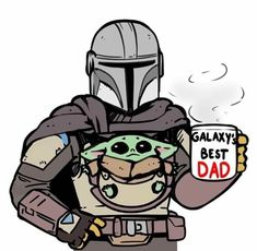 The Mandalorian and The Child aka Baby Yoda (Star Wars) Gala.- The Mandalorian and The Child aka Baby Yoda (Star Wars) Galaxy& Best Dad The Mandalorian and The Child aka Baby Yoda (Star Wars) Galaxy& Best Dad - Star Wars Fan Art, Star Trek, Star Wars Baby, Stormtrooper, Darth Vader, Amour Star Wars, Cuadros Star Wars, Yoda Meme, Funny Baby Pictures