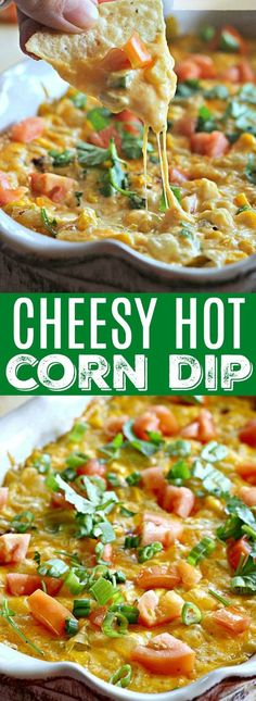I am obsessed with this Cheesy Hot Corn Dip! I get asked to make it all the time!
