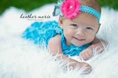 precious 3 month old girl :) smile