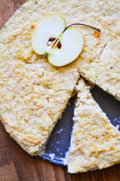 S vášní pro jídlo: Tvarohový jáhelník s jablky Sweet Recipes, Cookie Recipes, Paleo, Food And Drink, Bread, Cheese, Cooking, Healthy, 3