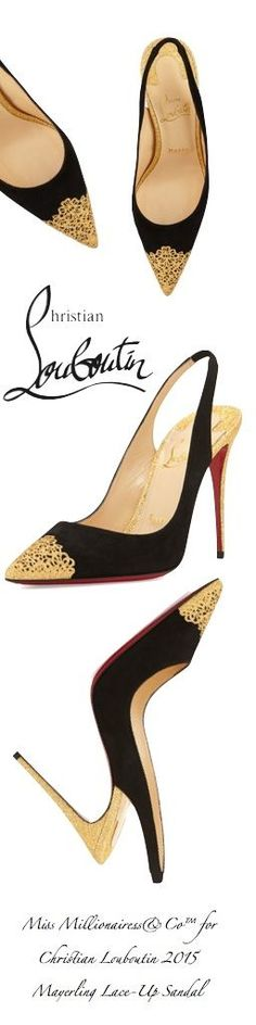 Christian Louboutin 2015 Lace-Up Sandal