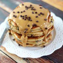 Peanut Butter Chocolate Chip Pancakes Recipe