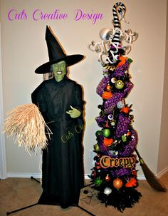 My Halloween Entry @ Cat's Holiday & Home Decor
