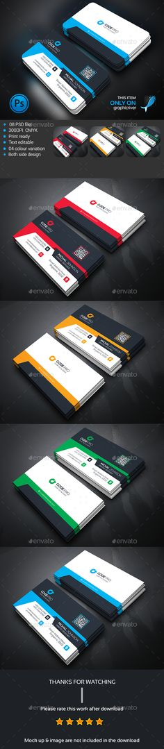 Corporate Business Card Template PSD #design Download: http://graphicriver.net/item/corporate-business-card/14265645?ref=ksioks