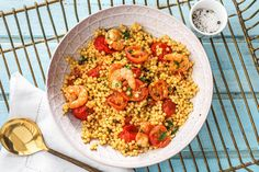 Garnalen in venkel-tomatensaus Recept | HelloFresh