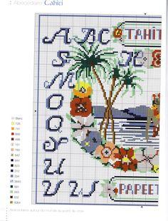 Gallery.ru / Фото #29 - Abecedaires autor du monde au point de croix - anfisa1