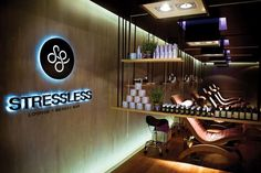 Stressless Lounge & Beauty Bar - Moscow by Reis Design, via Behance