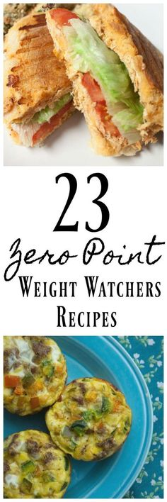 These Zero Point Weight Watchers Recipes are perfect for anyone doing Weight Watchers. All 21 recipes have no points and they are tasty too! #weightlossrecipes #weightwatchersrecipes #weightwatchers