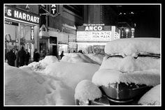The Anco Theatre on 42nd Street after a blizzard ………………..For more classic 60's and 70's pics please visit and like my Facebook Page at https://www.facebook.com/pages/Roberts-World/143408802354196