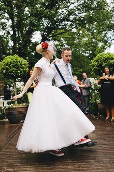 Juliette and Matt's Rock And Roll St Kilda Wedding