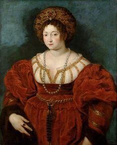 Artista: Peter Paul Rubens  Siegen 1577 - 1640 Amberes  Pintura:  Isabella d'Este para 1600/1601  Lienzo