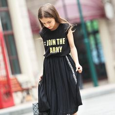 >> Click to Buy << 2016 Latest Fashion Kids Summer Teen Girls Sleeveless T-Shirt Letters for Children Age 4 5 6 7 8 9 10 11 12 13 14T Years Old #Affiliate