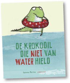De krokodil die niet van water hield Door bibliotheken geselecteerd voor de Prentenboek TopTien Tekst en illustraties: Gemma Merino Prijs: € 13,95 Uitgeverij: Lemniscaat ISBN: 9789047706144 Alle krokodillen houden van water, toch? Nou, deze kleine…