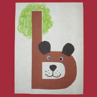 egel en beer > b is for bears Every child has a letter Decorative abc Preschool Letter B, Alphabet Letter Crafts, Abc Crafts, Preschool Literacy, Preschool Art, Zoo Phonics, Holiday Crafts For Kids, Learning The Alphabet, Alphabet Activities