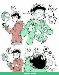 Page 3 Read OsoChoro/ChorOso from the story ❤Osomatsu-san Imágenes by (Matsu) with reads. Gay Comics, Cute Comics, Handsome Anime Guys, Cute Anime Guys, Otaku Anime, Yaoi Hard Manga, Ecchi Neko, Osomatsu San Doujinshi, Splatoon Comics