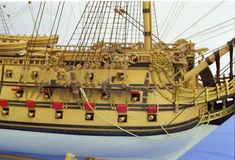 Photos of a fine SAN FELIPE ship model which is a favourite ship among the ship model builders. Model Ship Building, Boat Building, Scale Model Ships, Scale Models, Model Sailing Ships, Tall Ships, Battleship, Plastic Models, Pirate Ships