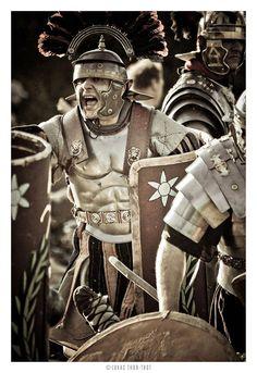 Legio XXI Rapax - historical reenactment of roman legion. Rekonstrukcja historyczna rzymskiej armii