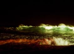 Hawaii's North Shore at Night, photographed by Jason Madara