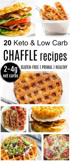 This Keto & Low Carb Chaffle Recipe Round-up provides 20 of the best chaffle recipes for easy and delicious snacks, meals and sides! Also learn the most important tips for great chaffles. || Eat Beautiful | keto chaffle recipe | low carb chaffle recipe | breakfast chaffle | pizza chaffle | blt chaffle | chaffle sandwich | chaffle recipes | #chaffle #keto #lowcarb