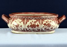 Porcelain foot bath. Jhingdezhen, China. Ming Dynasty (1368 - 1644 AD)