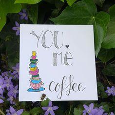 #handletteren #illustratie #koffie #coffee