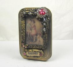 Altered Altoid Tin Amour  Decorative by ferrytalesgifts on Etsy  good directions on how they did it!