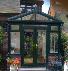 Dark Green Conservatory Newbury, Berkshire