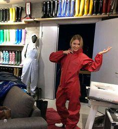 Red Coats & Jackets for Men for sale Ck Calvin Klein, Calvin Klein Jeans, Farmer Overalls, Rubber Catsuit, Waterproof Bibs, Down Suit, Rain Gear, Vintage Jacket, Vest Jacket