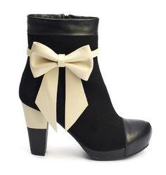 Lola Ramona Angie P Boot Black Suede