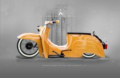 Simson Schwalbe Low Concept by AREA12DESIGN , Simson, Lowrider, Custombike, Concept, DDR, Moped