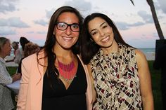 Property Markets Group Hosts Broker Event At Sage Beach. | MetroCitizen Magazine. Emily Wingrove, Sylvia Dilsen.