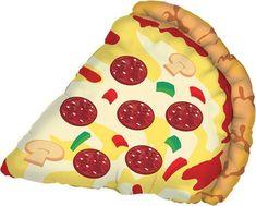 Pizza Balloon/Jumbo Balloon/ 29 Large Balloon by ButtercupBlossom