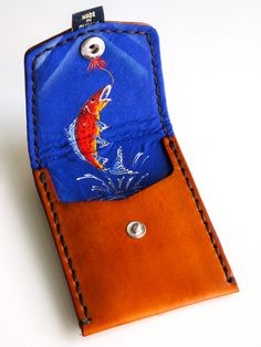 Tan with Fish (Pocket Wallet)