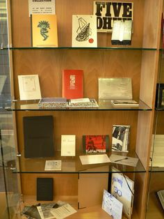 Book art SIG blog post: Every Item in the Artists' Books Collection