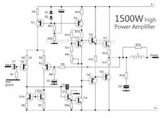 Component, 600 Watt Mosfet Power Amplifier With Pcb Ave
