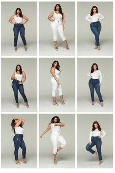 Plus Size Jeans, Stripes, and Sequins - Alexa Webb - Plus Size Fashion & Dress