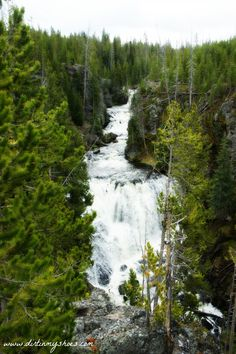 Kepler Cascades || Yellowstone National Park || Dirt In My Shoes