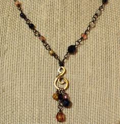 Isabella Necklace and Earring Set by WiredEssentials on Etsy, $30.00