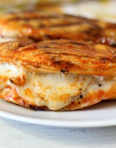 Grilled Cheesy Buffalo Chicken ---- Recipes, BBQ, Grilling, Atkins Diet, Low Carb