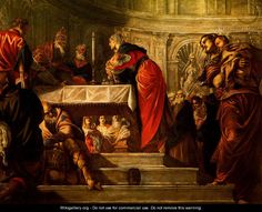 The Presentation of Christ in the Temple - Jacopo Tintoretto (Robusti)
