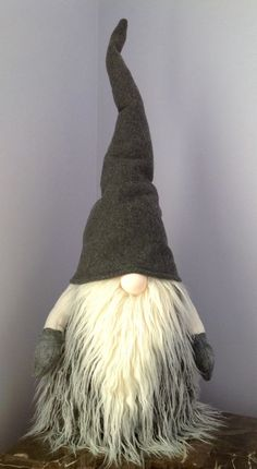 "TALL 29"" Swedish Norwegian Tomte Nisse Gnome Santa Elf Christmas Nordic Decor"