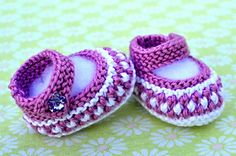 Little Stars Baby Booties