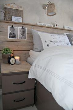 tête de lit bois clair