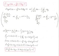 Solución del ejercicio 10 Ecuaciones diferenciales de variables separadas